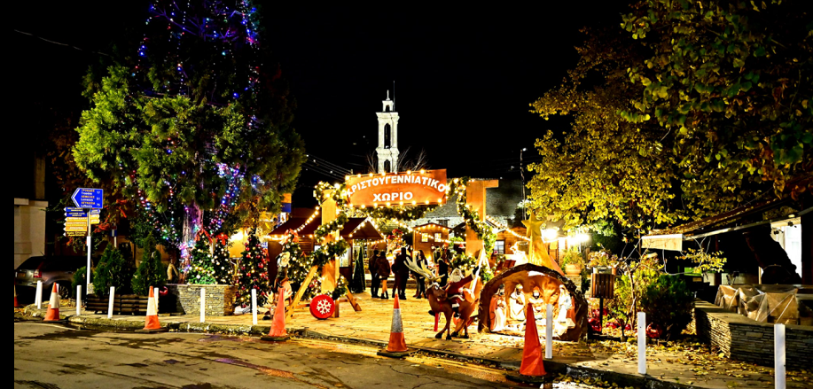 Το Χριστουγεννιάτικο χωριό της Κυπερούντας είναι όνειρο! (Photos)