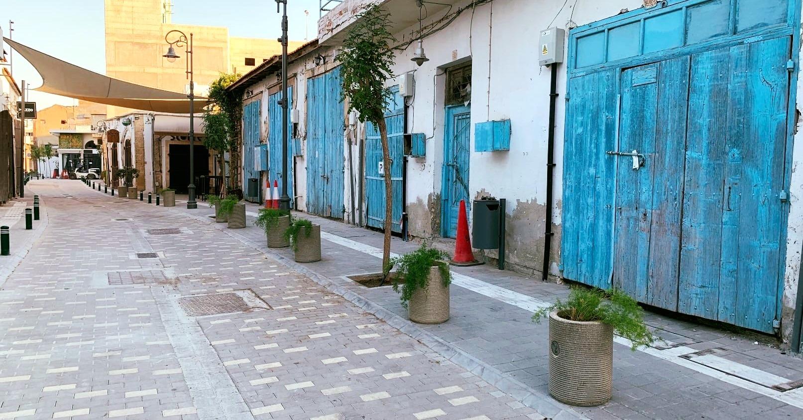 Ένας από τους ωραιότερους δρόμους της Λάρνακας ανανεώθηκε και είναι πλέον προσβάσιμος σε όλους