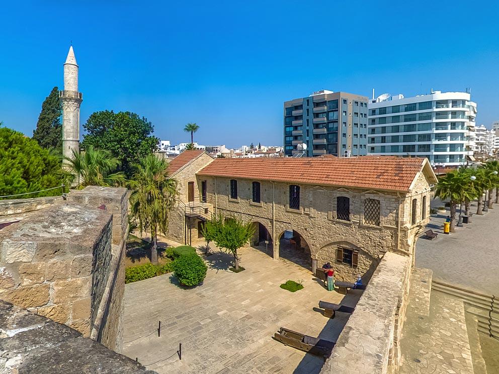 Κλειστό το Κάστρο Λάρνακας μέχρι τις 31/12/2020